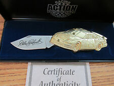 Dale Earnhardt #3 GM Goodwrench Bass Pro Shops Gold Color Action Knife