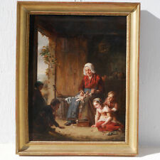 Théodore DE HEUVEL Eecloo Tableau XIX Peinture flamande Vlaamse Flemish painting