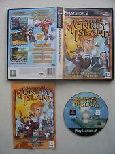 Escape From Monkey Island Ps2 -  Great condition with Book
