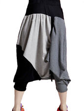 Stylish Women Korean Stretchy Casual Loose Hip Hop Dance Harem Pants Trousers