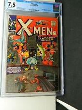 Silver Age X-MEN 20, Professor X, I Lucifer 1966 CGC 7.5 One Owner