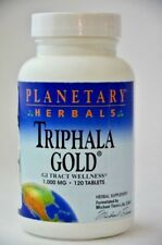 Triphala Gold GI Tract Wellness Planetary Herbals 60 Servings NEW Sealed 8/21