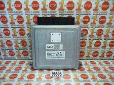 10 11 12 2012 HYUNDAI SANTA FE 2.4L A/T ENGINE COMPUTER ECU ECM 39104-2G342 OEM