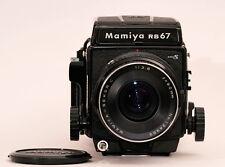 Mamiya RB 67 pro s #c158982 con Sekor C 3,8/90mm #134989 + revista