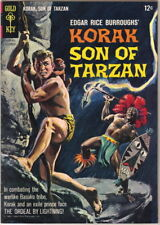 Korak Son of Tarzan Comic Book #6 Gold Key Comics 1964 FINE+