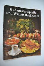 DDR Kochheft Budapester Spieße und Wiener Backhendl