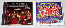 2 CD SET - THE KELLY FAMILY - CHRISTMAS FOR ALL & FESTLICHE STUNDEN -WEIHNACHTEN