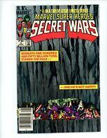Marvel Super-Heroes Secret Wars #4, VF+, 1984  Marvel Comics Newsstand