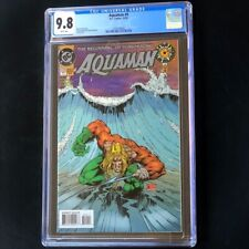 Aquaman #0 (DC Comics 1994) 💥 CGC 9.8 💥 HIGHEST GRADED - 1 of 16! Comic