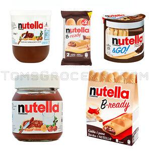 NUTELLA Go | B-Ready | Hazelnut Chocolate Spread Selection