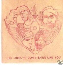 (190Y) Big Linda, I Don't Even Like You - DJ CD
