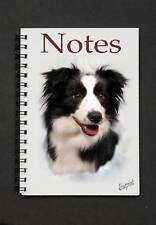 Border Collie Notebook / Notepad By Starprint - Auto combined postage