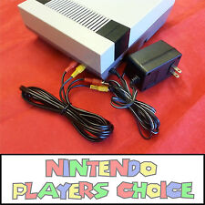 AC ADAPTER + AV CABLE - For the Nintendo NES Systems - New - Fast Shipping