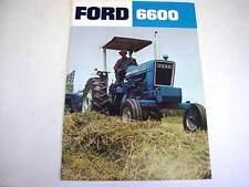 Ford 6600 Farm Tractor Brochure