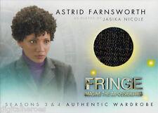 Fringe Seasons Three & Four Wardrobe Costume Card M3 Jasika Nicole as Astrid