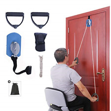 Overdoor Shoulder Pulley Home Stretching Physical Therapy Equipment with Foam