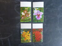 2006 SINGAPORE ORCHIDS SET 4 MINT STAMPS MNH