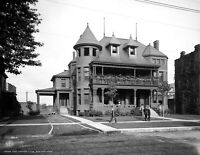 "1908 East Saginaw Club, Saginaw, Michigan Vintage Photograph 8.5"" x 11"" Reprint"