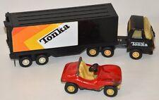 Lot véhicules Métal TONKA vintage Camion + remorque -  Buggy