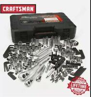 Craftsman 230 Piece Mechanics Tool Set, Alloy SAE Metric Socket Wrench w/ Case
