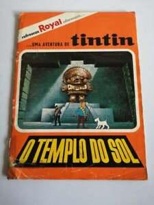 Royal sticker album Tintin - O templo do Sol - The temple of the sun complete