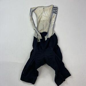 RAPHA Pro Team Bib Shorts Size Small Black & White Distressed