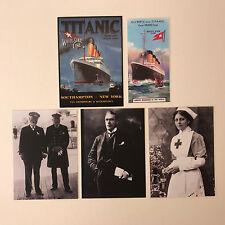 TITANIC 100 YEARS (Cult-Stuff/2012) Complete 3-Card CHASE SET + MINI & PROMO BP1