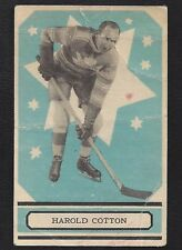 1933 OPC V304A #35 Harold Cotton RC, Vintage Toronto Maple Leafs Hockey 1933-34