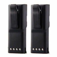 2 Pcs New HNN9628 Battery for MOTOROLA GP300 GP88 LTS2000 GTX