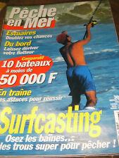 La pêche en mer N°167 Estuaire Surfcasting Osez le baïnes Pêche traine Poisson