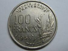 1958 CHOUETTE 100 FRANCS FRANCE TIPE COCHET