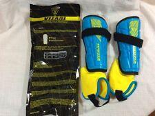 Vizari Malaga Shin Guard Sky Yellow Lightweight X Small Xs