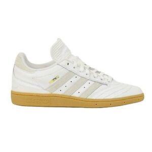 Adidas BUSENITZ White White Leather Skateboarding D69124 (326) Men's Shoes