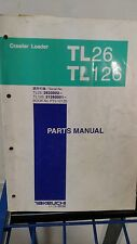 Takeuchi Tl26 Tl126 Crawler loader Parts Catalog