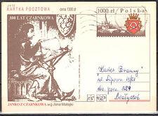 Poland 1992 - 800th years Czarnkow - Cp 1026 - postcard