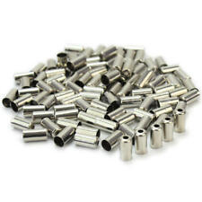100Pcs Bike Bicycle Cycling Housing Brake Cable End Caps Lined Ferrules  JRB
