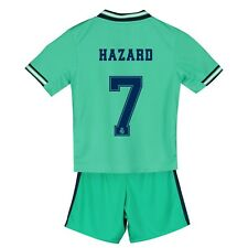 T3 Real Madrid 5-6years Third Mini Kit 2019 - 20 with Hazard 7