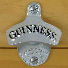 Guinness Starr X Wall Mount Stationary Bottle Opener, Embossed NEW in gift box!!