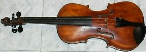 OLD VIOLIN LABELED INSIDE DOMINICUS RIEF IN VLIS IM TYROLL 1796 FULL SIZE