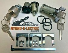 1979-1981 Camaro Black Finish Door & Trunk lock set + Chrome Ignition- GM keys