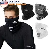 Bike Face Mask Sun Shield Neck Gaiter Balaclava Neckerchief Bandana Headband HI