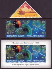 Papua New Guinea 1988 SYDPEX and Australian Bicentennial