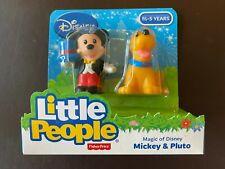 Fisher Price Little People Magic of Disney Mickey & Pluto