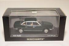 . MINICHAMPS NSU RO80 1972 SPANISH GREEN MINT BOXED
