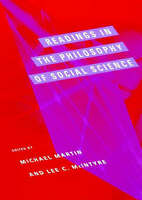 Readings in the Philosophy of Social Science (Bradford Books)-ExLibrary