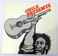 Chile Presente LP Expression Spontanee VDES 001 VG+ Vinyl Compilation France