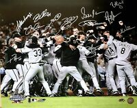 *RARE* Chicago White Sox 2005 World Series Team Signed 16x20 Photo Autograph-MAB
