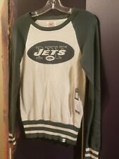 NWT NY New York Jets Womens Sweater Small NFL Forty Seven Brand New Football