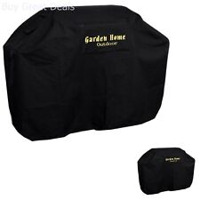 New Garden Home Outdoor, Heavy Duty Grill Cover, 58in L, Black Bbq Barbecue