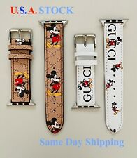 Apple Watch Band Genuine Leather Strap For Series 5 4 3 2 1 38/40mm, 42/44mm